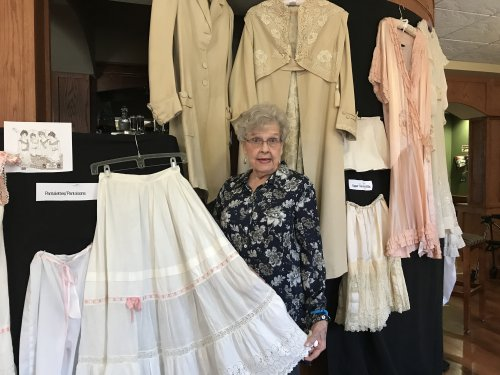 Judy shares her families Lingerie from the late 1800's
