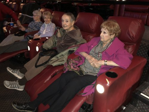 One of our outings this week was to the movies! We went to go see 'Little Women.' A must see!