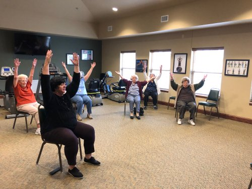 Calm, relaxing, and rejuvenating! Our Tai Chi class offers many health benefits!
