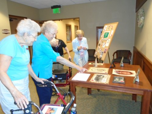 Celebrating Assisted Living Week-Back to School!