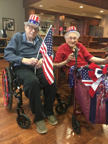 Len and Charlie - 4th of July 2018