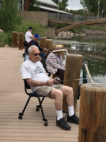 Some of our Residents enjoying some fishing!