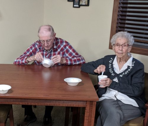 No matter what age they are, ice cream brings people together.