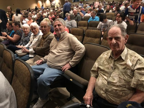 Residents attended the Bentonville High School Les Misérables Musical on a Sunday Afternoon!