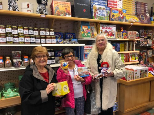 Residents traveled to the Wal-Mart Museum, Walton Five and Dime Store, and Spark Cafe to learn about the history of Wal-Mart, buy vintage items, and have an ice cream cone!