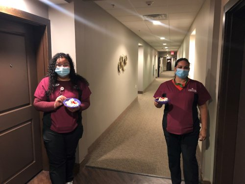 We love our Primrose CNAs and celebrated them with goody bags, ice cream sundaes, appreciation notes and giveaways though-out CNA week!