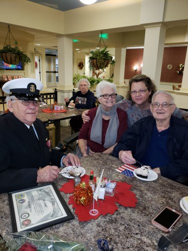 Pie with our Veterans!