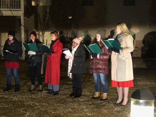 Carolers at our Live Nativity