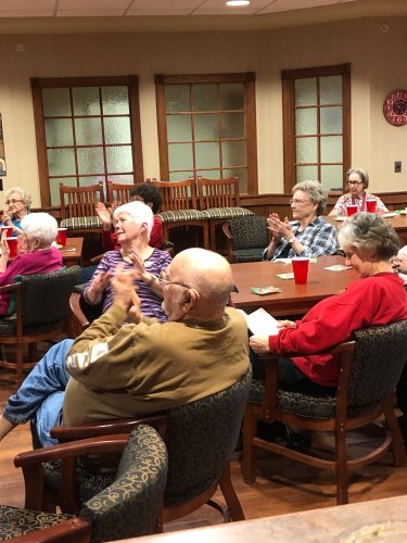 Residents cheering on the Chiefs in the Super Bowl!