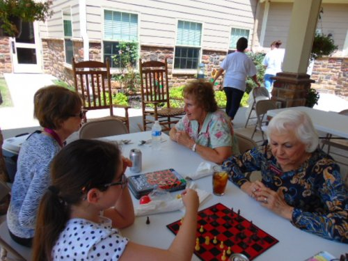 The Longest Day cookout and fun games.
