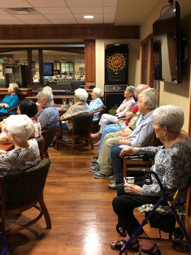 Celebrating Assisted Living Week with Music and Dessert!