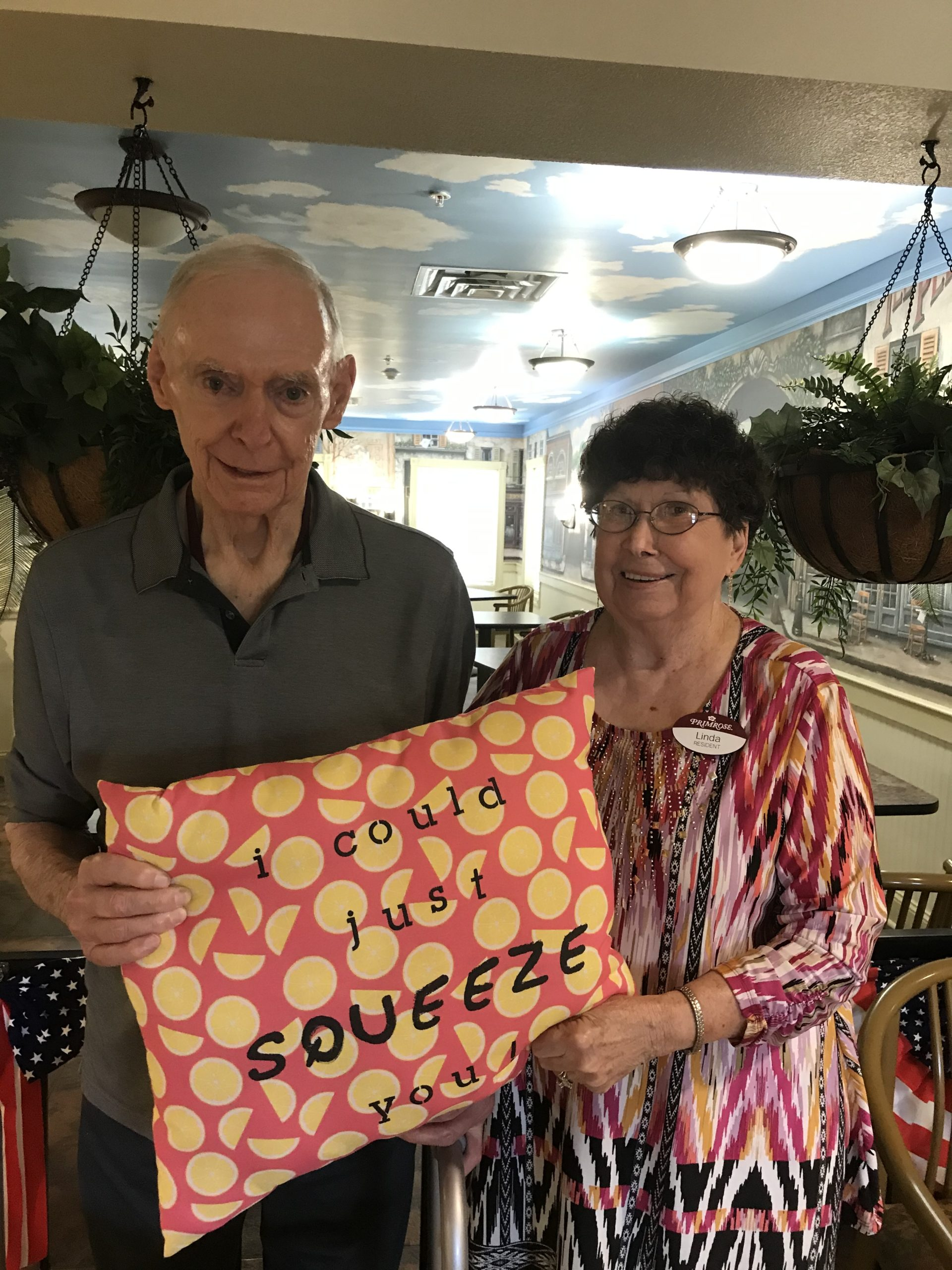 Residents Linda and Cecil celebrated 60 years of marriage!