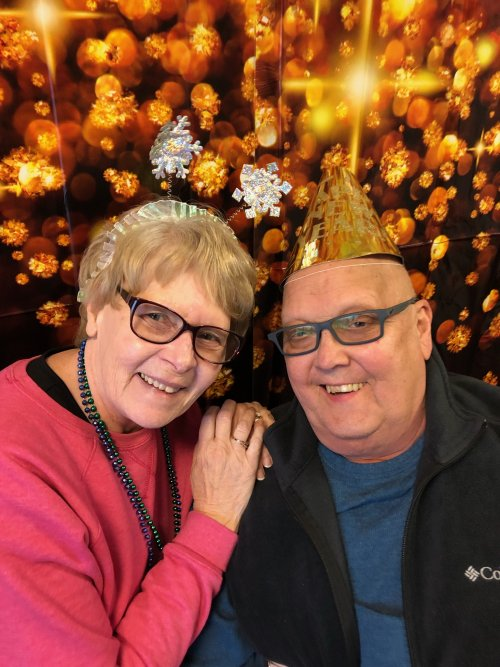 Happy New Year!  From the Sioux Falls Primrose LoAnn and George!