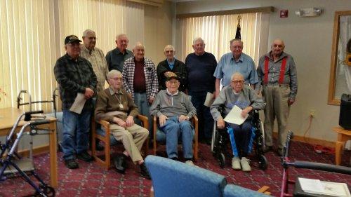 Honoring our Veterans at Sioux Falls Primrose!