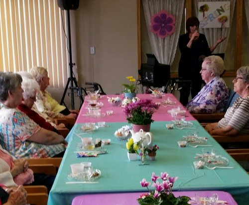 Spring Fling fun for the residents!