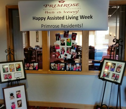 It is National Assisted Living Week!