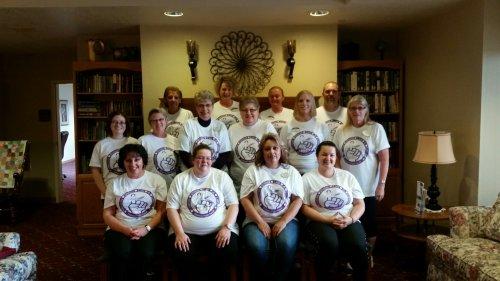 Primrose staff celebrating The Longest Day!