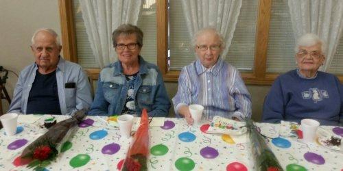 Residents celebrate October Birthdays!