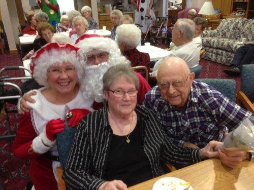 Celebrating December birthdays and Christmas!