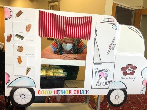 It's the Primrose Good Humor Ice Cream Truck!