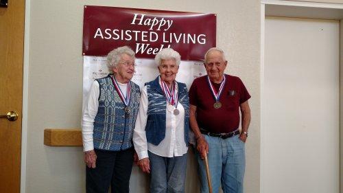 Senior Olympic medal winners!