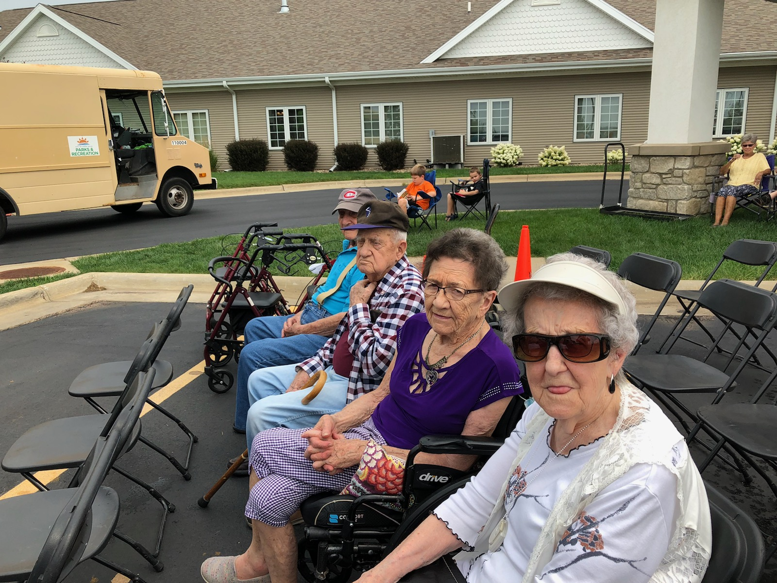 Residents excited for the Municipal Band to start!