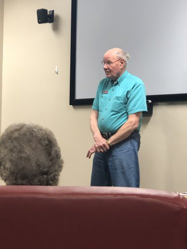 Jim sharing his involvement with the WASP organization following our Women of WWII PSU class. We enjoyed hearing stories he heard from the WASP women he has met.
