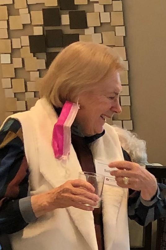 Betty M always enjoys a margarita at happy hour