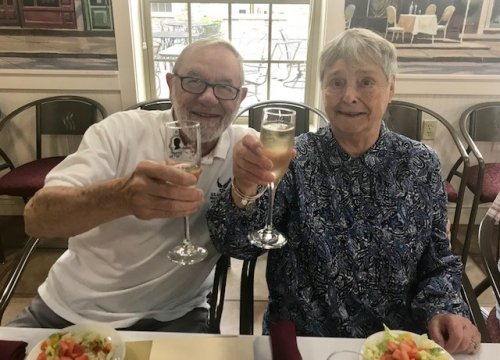 Happy 62nd Wedding Anniversary Timer and Kathryn.