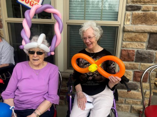 You are never to old for Balloon fun!