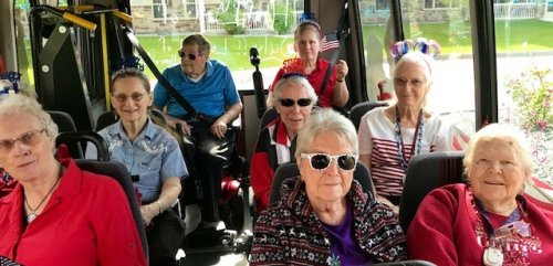 Residents all ready to be in the Wasilla 4th of July Parade.