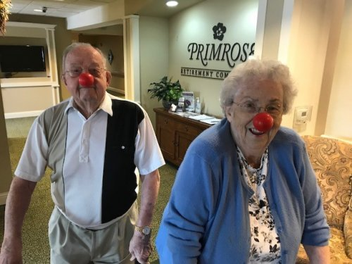 Art And Mary Participated for Red Nose Day to Bring Awareness of Children in Poverty.