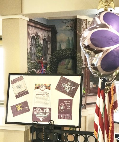 Primrose of Wausau celebrated the Alzheimer's Association's 5th Annual 'The Longest Day' June 21st 2018.