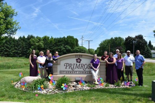 Primrose Wausau Celebrated the Longest Day in Support of National Alzheimer's Disease and Awareness.