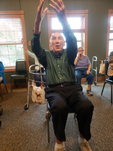 Tai Chi Sit is very popular amongst our residents.