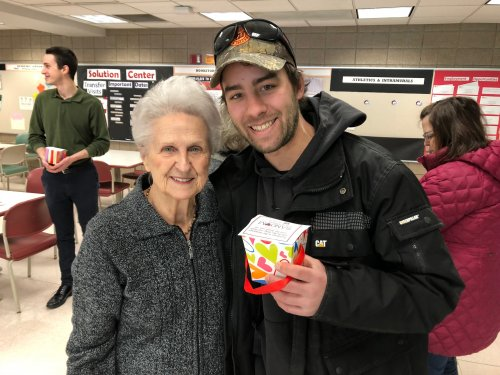 Helen A. gifted a student at UWSP-Wausau Campus for Random Acts of Kindness Day.