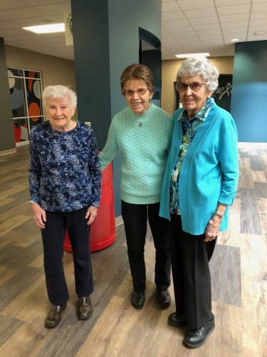 Connie, Shirley and Judy at NTC for our Random Acts of Kindness Day