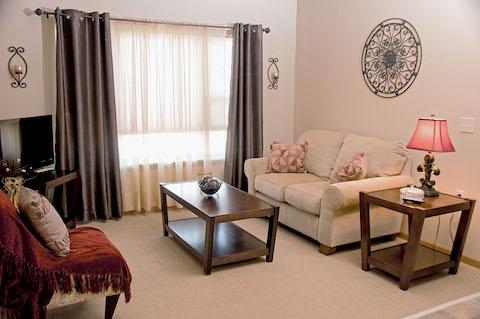 Senior independent living apartment