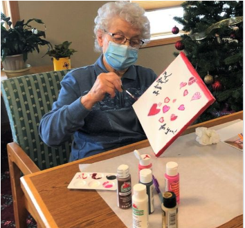 arts and crafts; active senior living