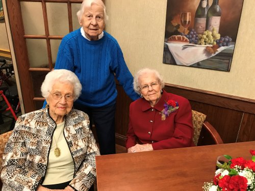 Golden Girls - 100, 101 & 102 years old!