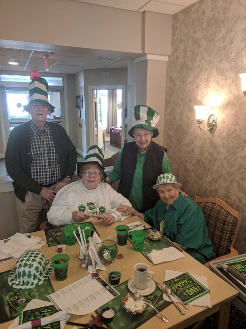 Fun times celebrating St. Patty's Day in Zanesville