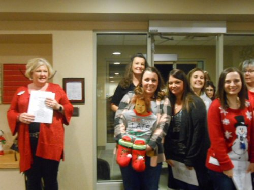 Our Primrose staff went Christmas caroling to each of the apartments and villas!