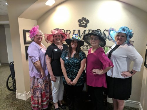 Primrose Managers Derby Hat Day Contest!